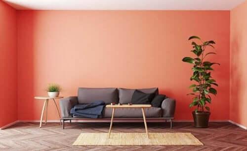 실내 장식을 위한 색상 트렌드 5가지