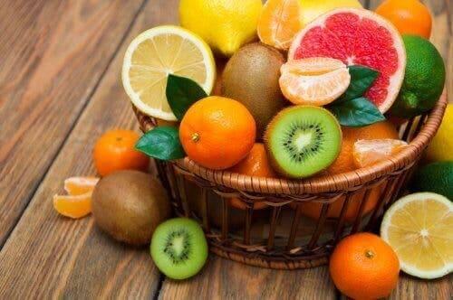 포만감을 주는 식단에 들어갈 과일과 채소