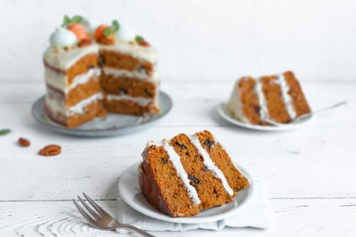 맛있고 간단한 당근 케이크 레시피 2가지