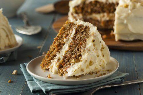 비건 당근 케이크