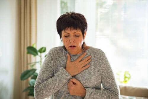 호흡기 문제