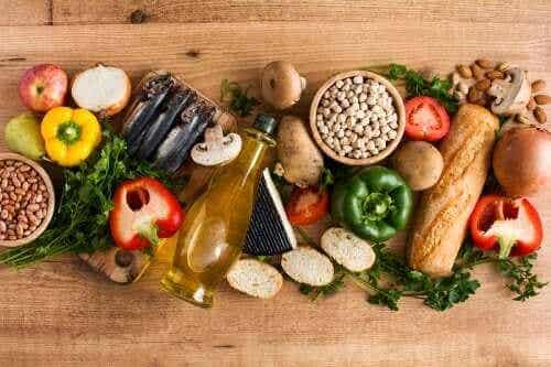 지중해 식단을 구성하는 10가지 주요 재료