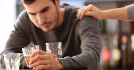 파트너가 알코올