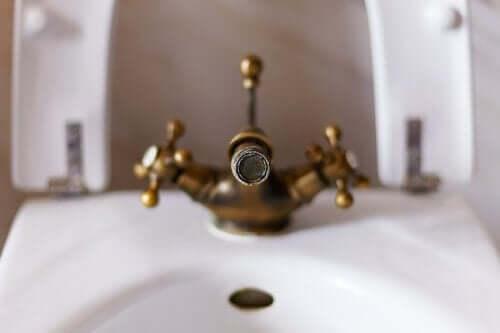 샤워실의 석회질과 칼슘 얼룩을 지우는 방법