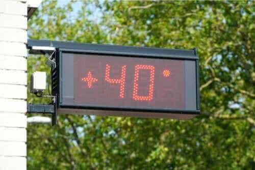 극심한 온도가 인체에 미치는 영향