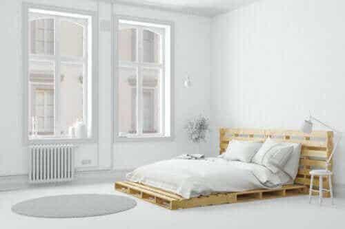 침실을 간소화하는 방법 6가지