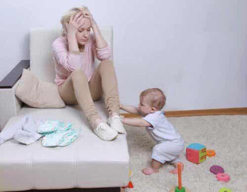 출산 후 아기와 자기애