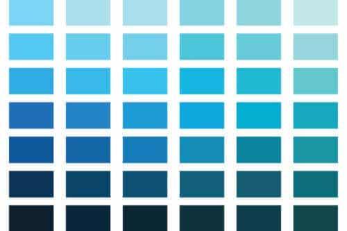 심리학에서 파란색은 무엇을 의미할까