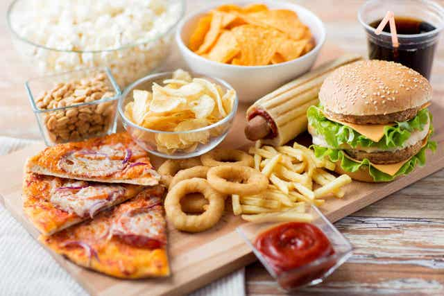 양질의 식단에 권장되는 칼로리양
