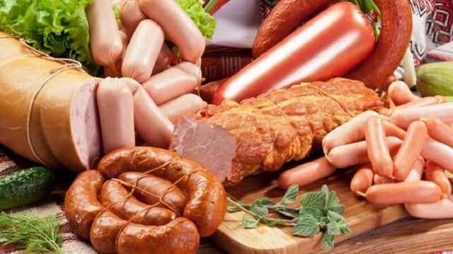 전염증성 식품 가공 육류