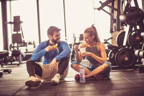 운동 전에 섭취해야 할 식품