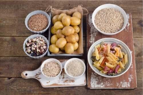 탄수화물이 풍부한 건강식품 3가지