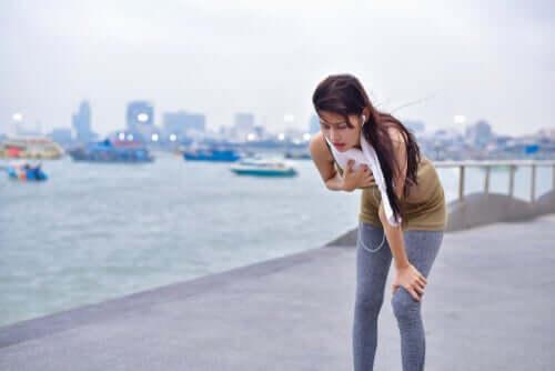 운동 후 속이 메스꺼운 이유는 무엇일까?
