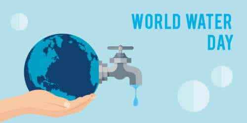 세계 물의 날을 기념하는 해시태그, #Water2Me