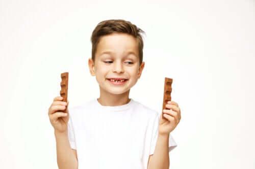 아이들이 초콜릿을 먹어도 안전한 걸까?